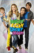 Nicky, Ricky, Dicky, Dawn y T / N by rubiobautista16