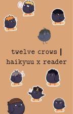 twelve crows | haikyuu x reader by tobiohnooooo