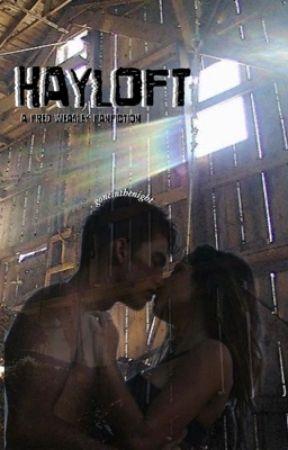 hayloft; fred weasley by goneinthenight
