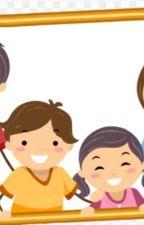 Küçük kız ve ailesi  by aysegsd