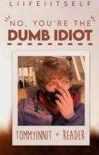 ❝ No, You're the Dumb Idiot ❞ ⋮⋮ Tommyinnit x Reader by ichiigomochi