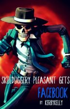 Skulduggery Pleasant gets Facebook by nowblackarc
