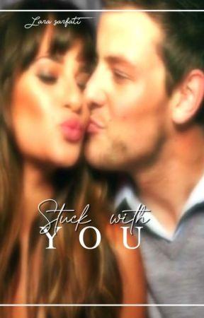 stuck with you - Finchel by Larasarfati