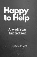 Happy to Help //Texting Au//wolfstar  by hufflepuffgirl27