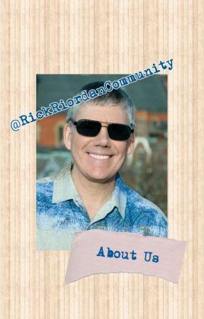 ➳About us - The Rick Riordan Community by RickRiordanCommunity