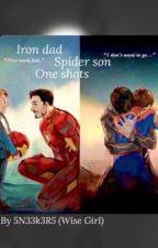 Iron dad Spider son Oneshots by 5N33k3R5