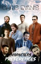 Chris Evans's Characters Preferences by Chiara_Drysdale