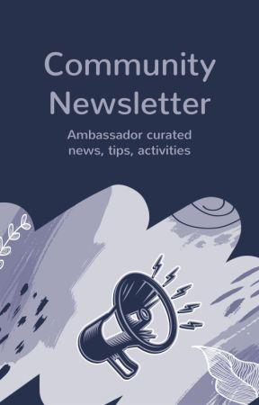 Community Newsletter (Myanmar) by AmbassadorsMyanmar