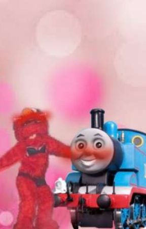 🗿THOMAS THE TRAIN X ELMO🗿 by BakugouDumbass