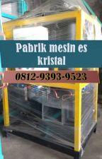 VIRAL, CALL: 0812-9393-9523, Mesin Pembuat Es Kristal by MesinEsBatukristal
