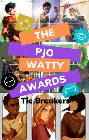 PJO Watty Awards 2020 Tie Breakers [CLOSED] by PercyJacksonAwards