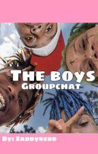 The Boys (rappers groupchat) by zaddyredd
