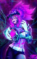 KDA Akali x Male Reader by Deotakukids