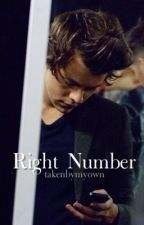 Right Number di takenbymyown