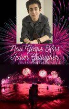 New Years Kiss: Aidan Gallagher by Duskprincess89