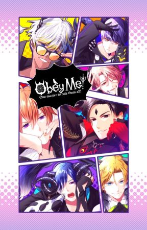 Obey Me! - Anime Otome Dating Sim / Dating Imagines by poutyprincessss