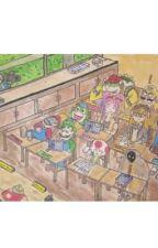 Mario X Meggy - Back In School by JayField2005