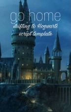 Shifting Script Template (hogwarts) by ilanapst