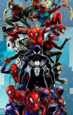 the spider-verse: enter the new Spiderman  by Arthurpendragon285
