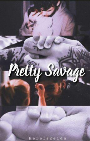 Pretty Savage   mpreg by HereIsZelda