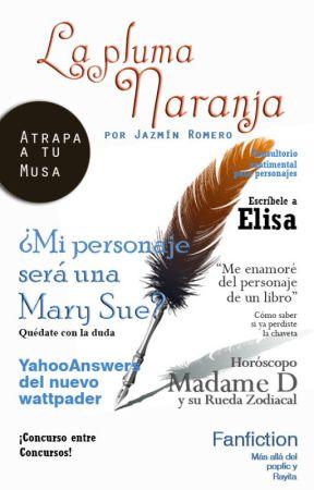 Revista La Pluma Naranja by CynStories