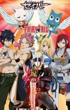 Kamen rider Saber X Fairy Tail: The wonder book warriors of the guild by JustyTurner