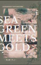 SEA GREEN MEETS GOLD (N.M. & P.J.) by QueenShayOfFandoms