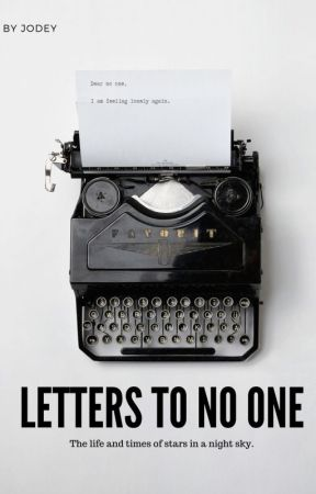 Letters to No One by un_realfriends