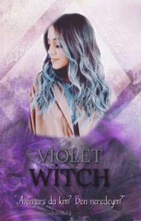 Aurora || Violet Witch by aysenazbakan144