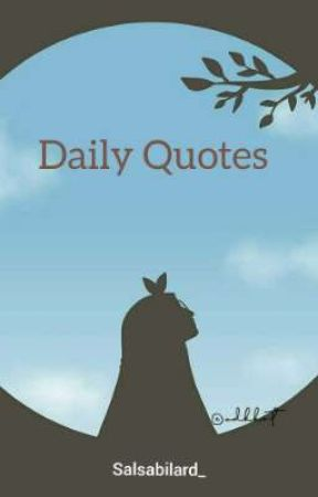 DAILY QUOTES(END) by Salsabilard_