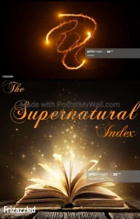 The Supernatural Index by Frizazzled