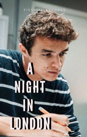 A Night In London || Lando Norris by kissniallerhoran