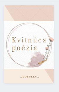 Kvitnúca poézia cover