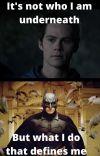Batman Begins (Stiles Stilinski) cover