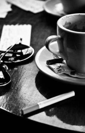 Reddie Stenbrough ~ Café by LosverJae