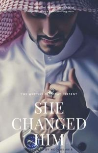 SHE CHANGED HIM cover