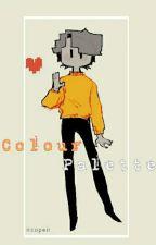Colour Palette || Wilbur Soot / Ghostbur x Reader || by iicopeii