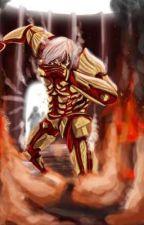 Attack on titan Male titan shifter x Mikasa by hellhound2356