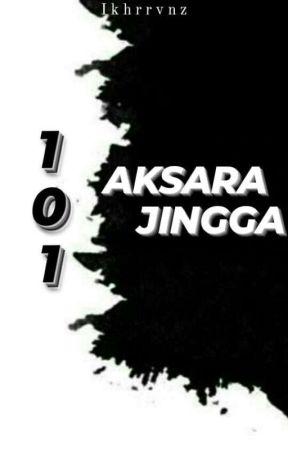 101 Aksara Jingga by RintikTeduh_