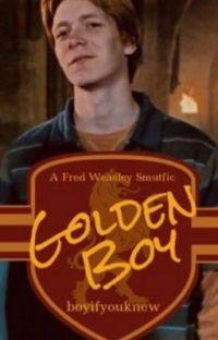 O Garoto de Ouro - Fred Weasley  cover