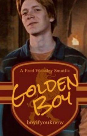 O Garoto de Ouro - Fred Weasley  by miaweasley17