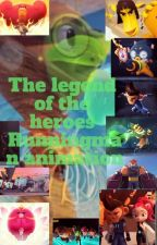Legends Of The Heroes Running Man animation(on Hiatus) by Miraculouseash