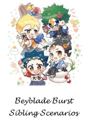 Beyblade Burst Sibling Scenarios by Lunaastrela
