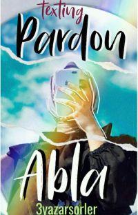 Pardon Abla -TEXTİNG- cover