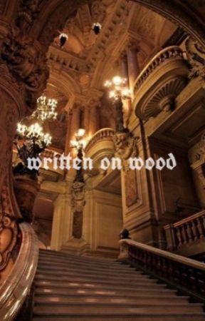written on wood - ron weasley x oc by liloveshp