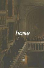 home (reader at hogwarts) by lionhoe