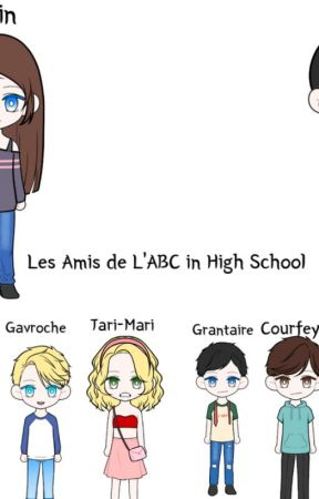 Les Amis de l'ABC in High School by WifeOfEnjolras
