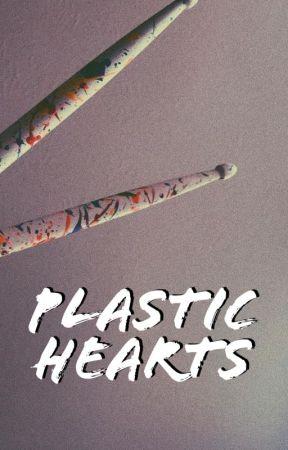 PLASTIC HEARTS | shawmila by guiltypleasurecoffee