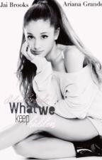 What We Keep Hidden (Jai Brooks- Ariana Grande) by kcxbello