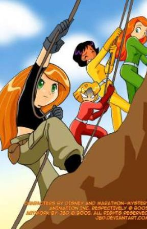 Mali U Possible: Totally Spies Crossover x Male Reader by deadpoolmerkwiththem